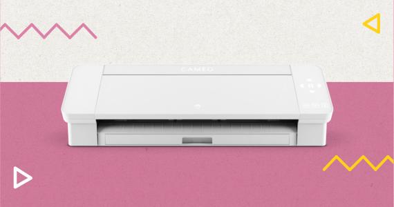 impressora silhouette branca