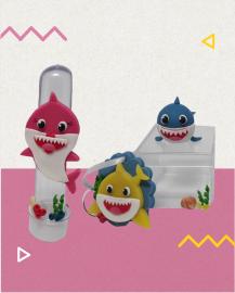curso de biscuit com baby shark